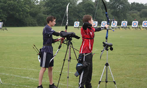 junior boys recurve