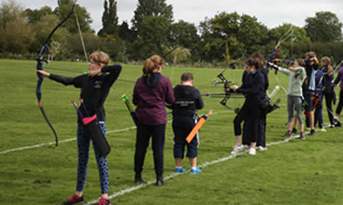 junior girls barebow