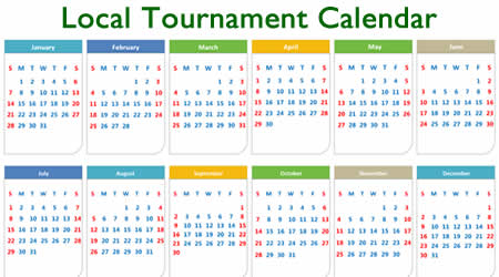 local tournament calendar
