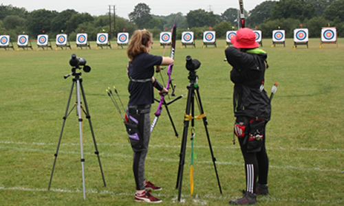 junior girls recurve