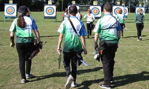 Gloucestershire Archery Society Junior Team