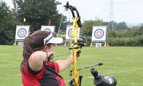 Gloucestershire Archery Society County Compound Records